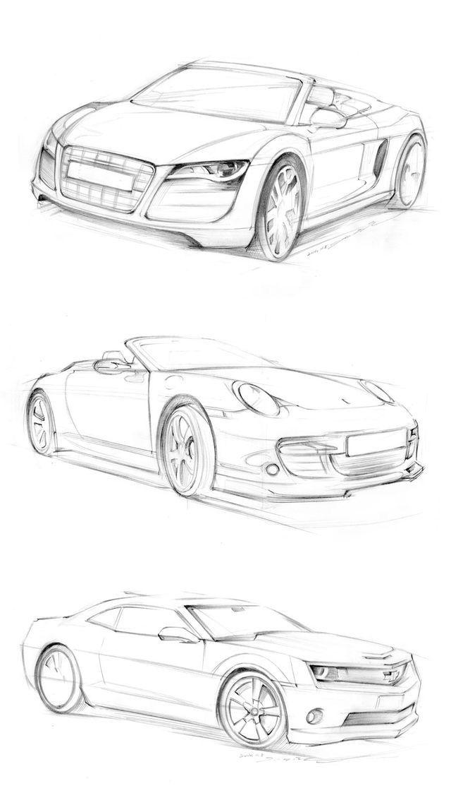 Pin von Jorge Pechi auf autos | Pinterest | Zeichnen lernen, 3d und ...
