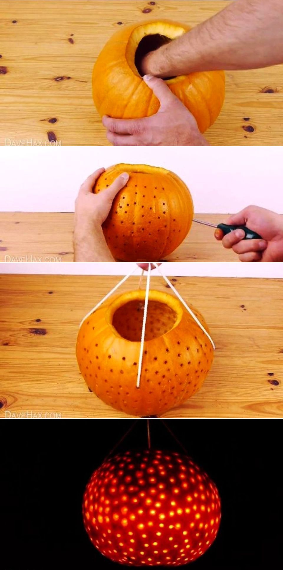 Watch How to Carve a Disco Ball Pumpkin video