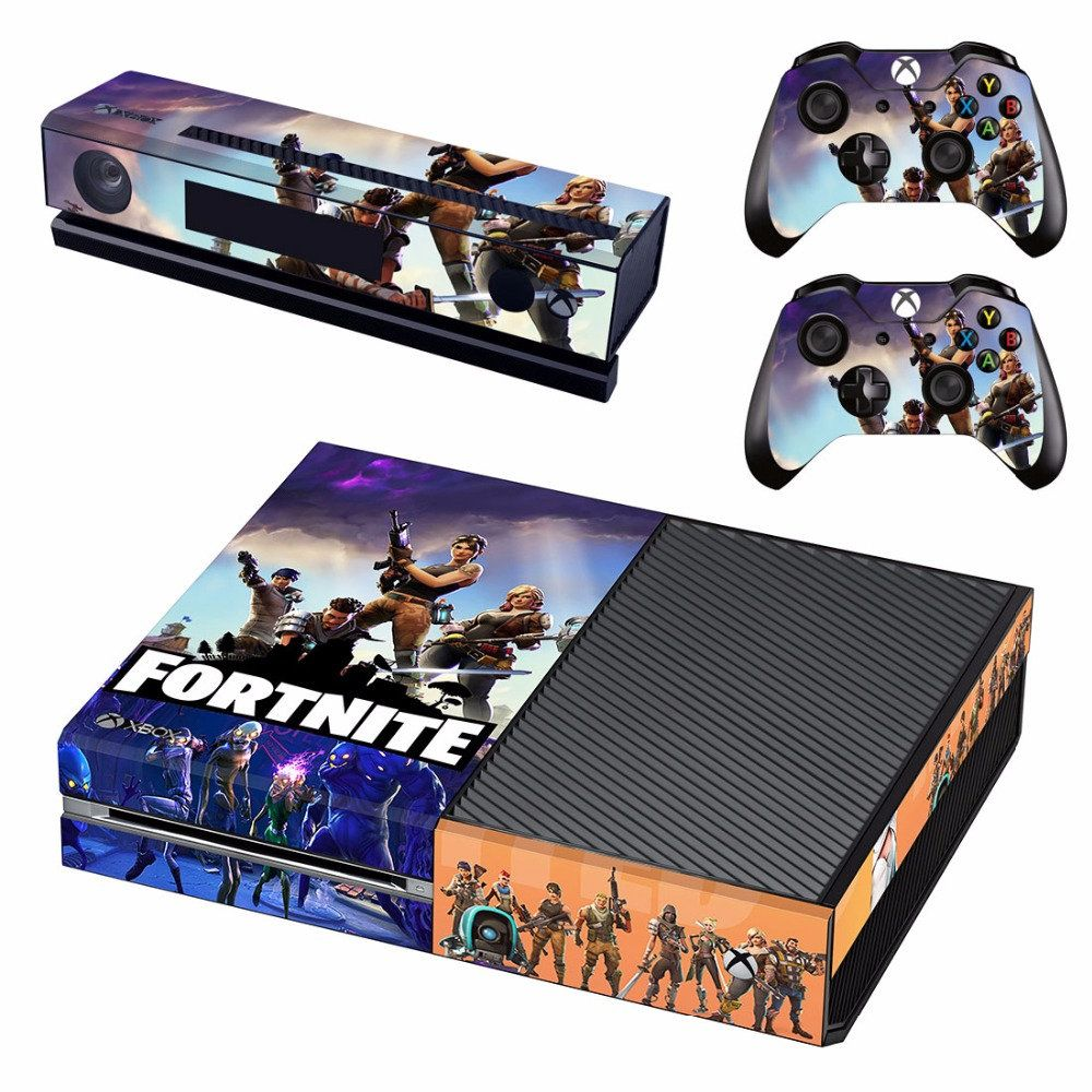Game Fortnite Skin Sticker Decal For Microsoft Xbox One X Console And 2 Controllers For Xbox One X Skins Sticker Vinyl De La Bou Xbox One Console Xbox One Xbox