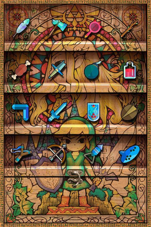Digiborg Zelda Iphone Wallpaper Zelda Art Art Wallpaper Iphone Best Iphone Wallpapers