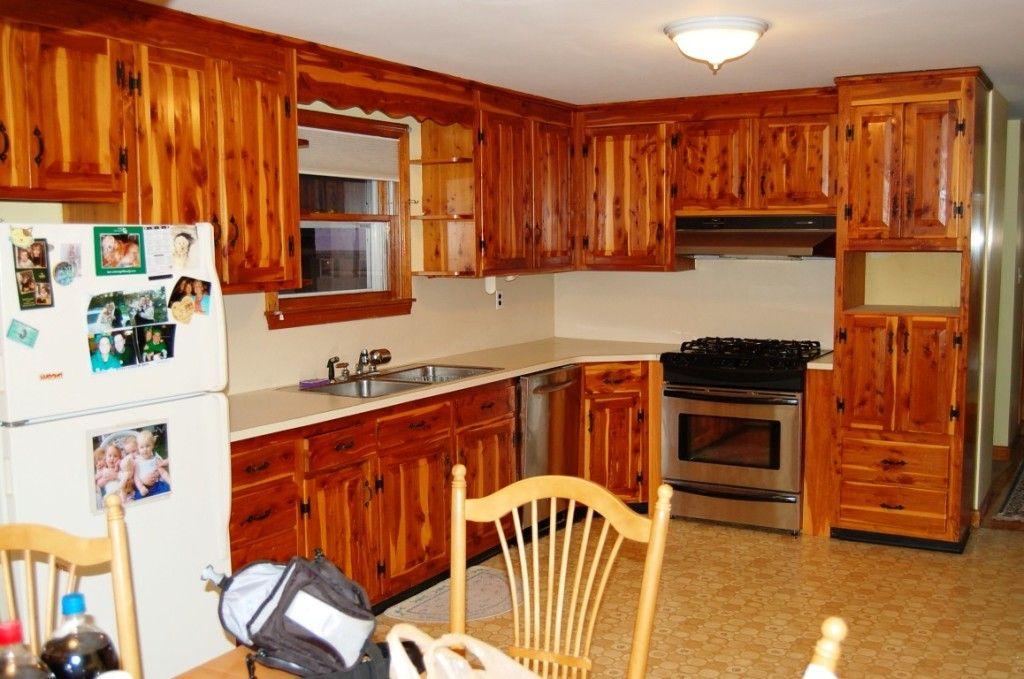 DIY Modern Cabinet Refacing | Refacing kitchen cabinets ...