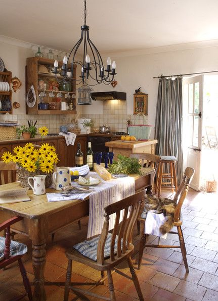 Beautiful Country Style Photos. Country Dining RoomsCountry ... Amazing Design
