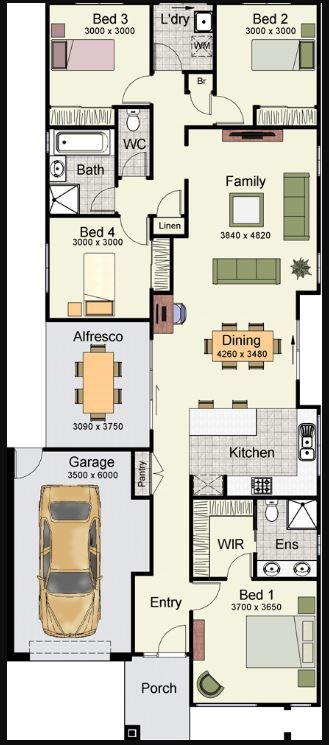 Planos De Casas En Un Terreno De 15 X 20 Hogar En 2019