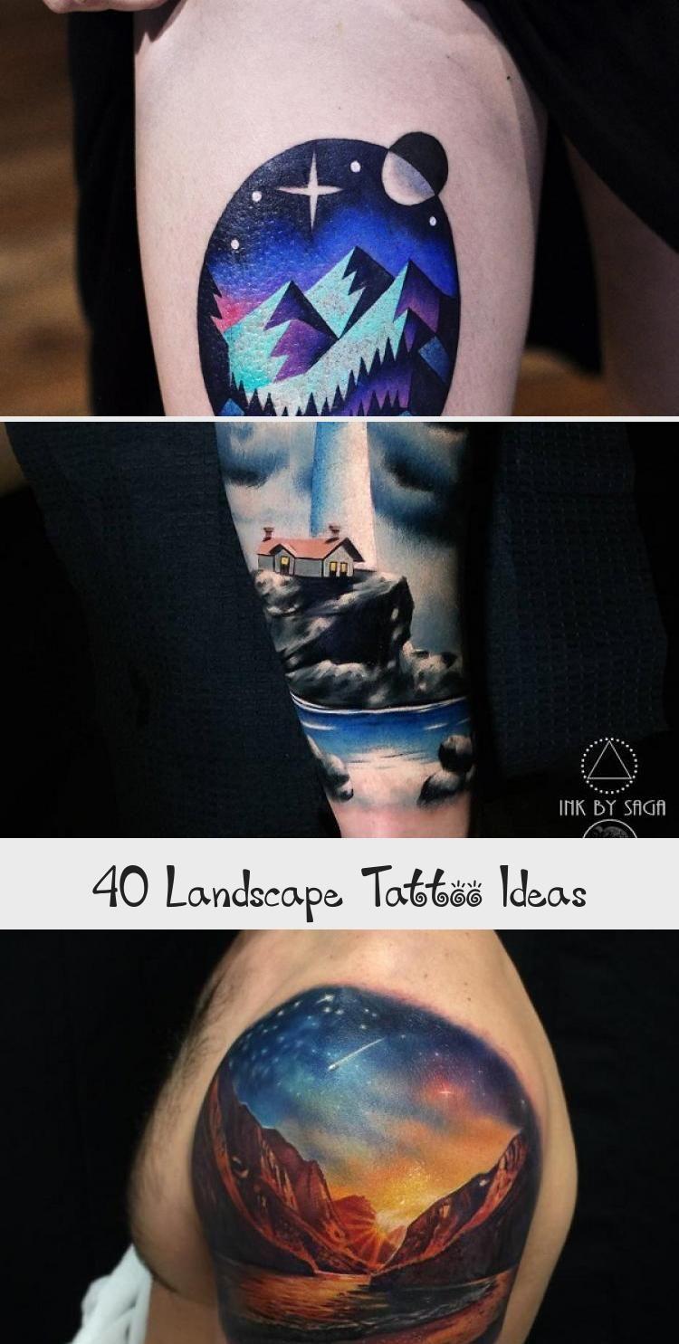 Photo of Idées de tatouage de paysage #ArtTattooArm #ArtTattooVideos #ArtTattooBack #ArtTattooS …