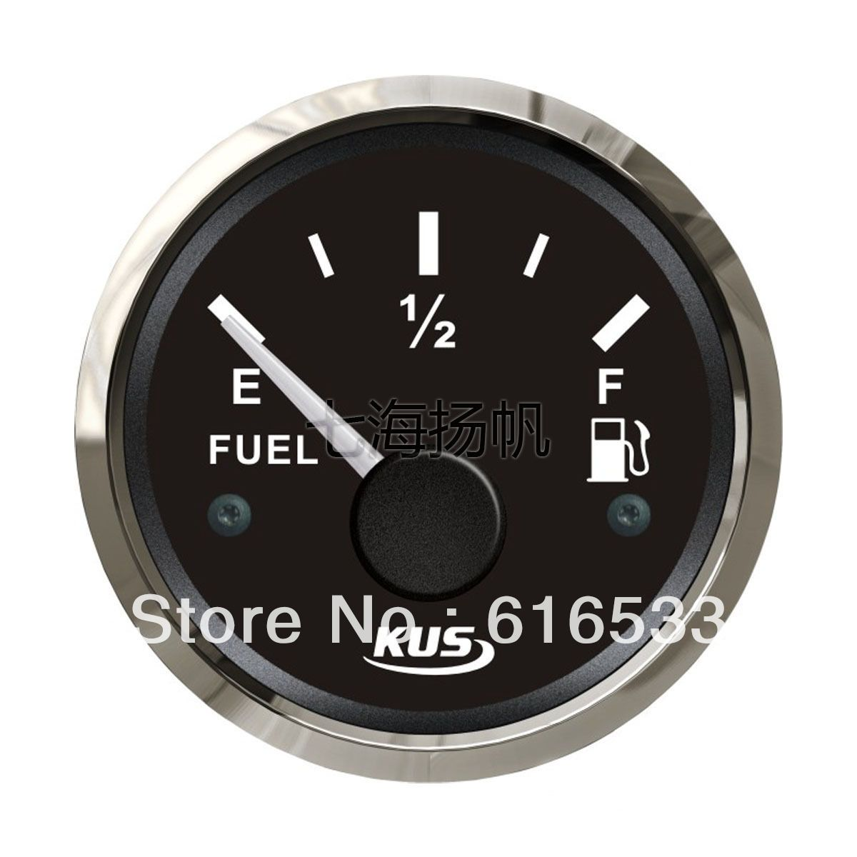 Kus 52mm oil level meter fuel tank liquid level gauge matine car rv