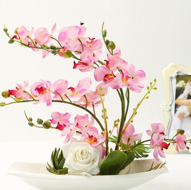 Pas Cher 2015 Haute Qualite Interieure Pot Paysage Fleurs Ceramique