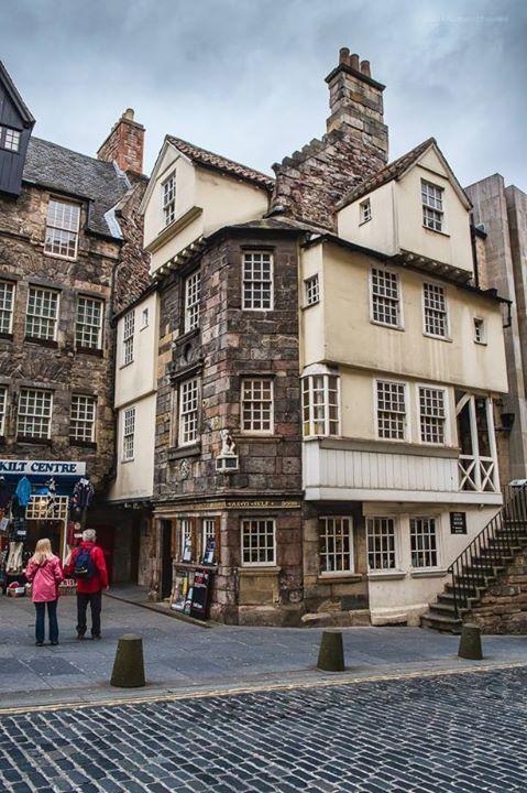 John Knox's House, Edinburgh Escocia, Ciudades