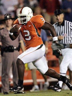 premium selection 55330 6b949 Frank Gore | Miami Football | Miami football, Hurricanes ...