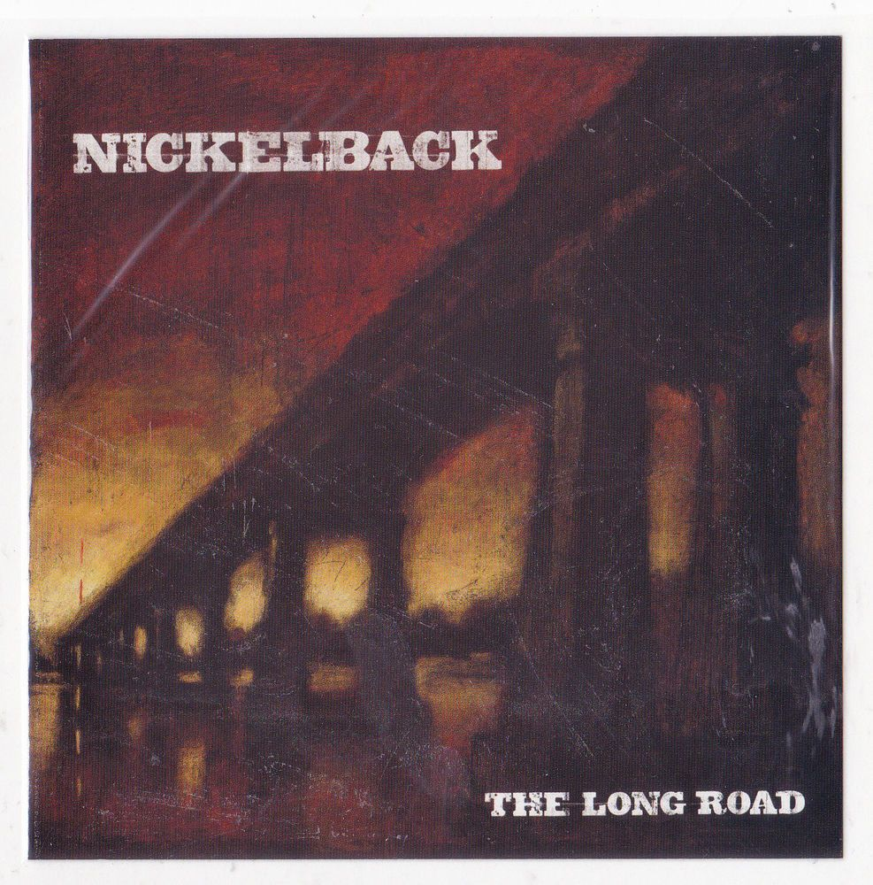 Rock Music Cover Nickelback Band Sticker Album Cover Art Rock Music Decal The Long