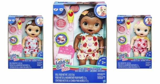 Hot Baby Alive Super Snacks Snackin Lily Doll Only 15 99 Baby Alive Twin Dolls Super Snacks