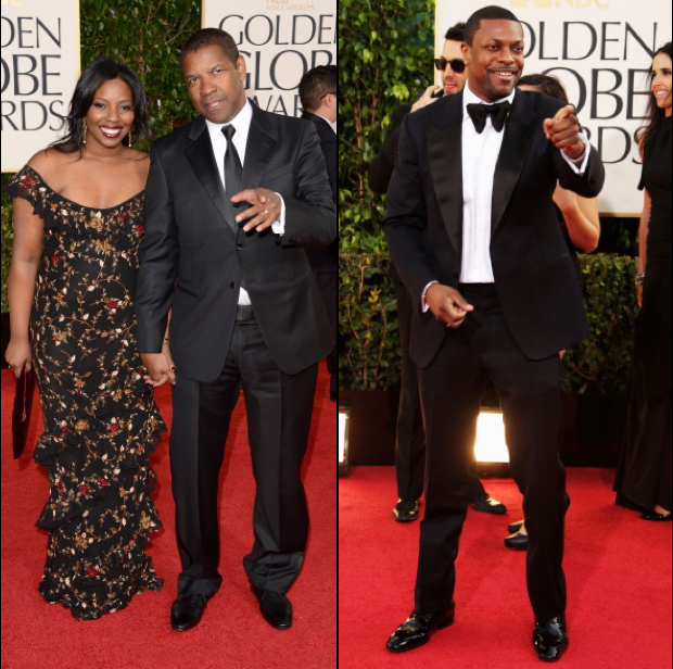 Celebs Looking Hot At The Golden Globes Halle Berry J Lo Kerry Washington More Necole Bitchie Com Celebs Halle Berry Denzel Washington