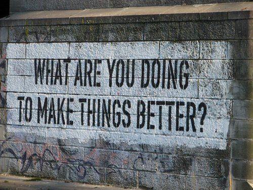motivational street art