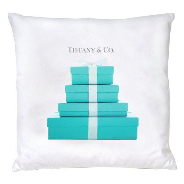 Breakfast at Tiffany Pillow ($40) ❤ liked on Polyvore