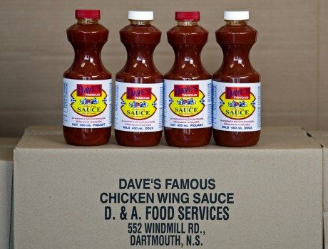 Dave's Famous Chicken Wing Sauce from Dartmouth, Nova Scotia