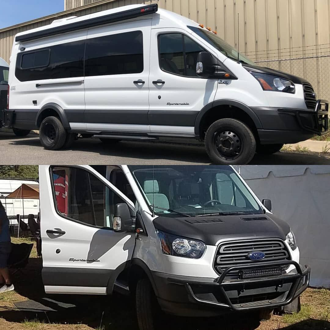 Kicking Off Transittuesday With This Quigley4x4 Ford Transit