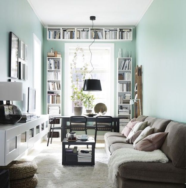 Cool Shades 8 Subtle Color Schemes To Make Your Small Living Room Feel Ger