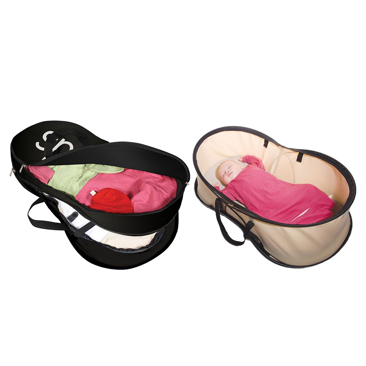 Philteds Nest Compact Bag And Bed Beige Phil Teds Sleep System