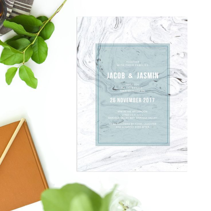 Grey marble wedding invitations blue turquoise sail and swan grey marble wedding invitations blue turquoise sail and swan stopboris Choice Image