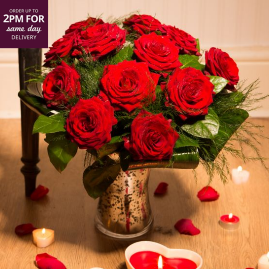 Red Roses Only £49.90 On iflorist.co.uk - http://tinyurl.com/lkghvt8  #Discount #Code