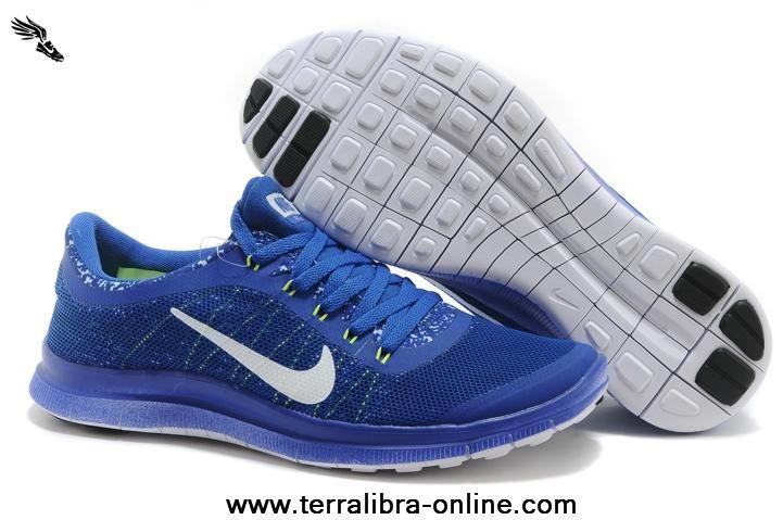 Ocean Blue Nike Free Run 3.0 V6 Mens Shoes Ocean Blue