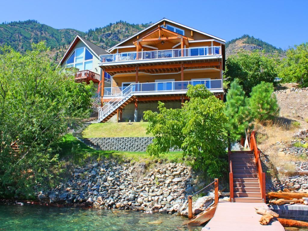 House vacation rental in chelan wa usa from