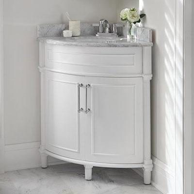 bathroom vanities - the home depot | corner sink bathroom