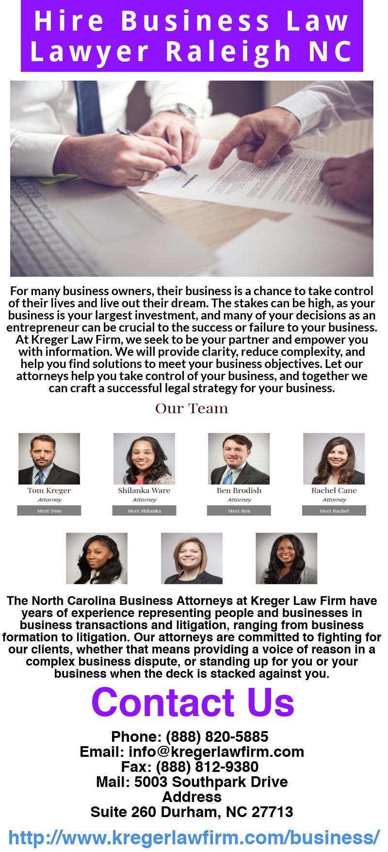 Pin de kreger lawfirm en Need Business Law Lawyer Raleigh NC