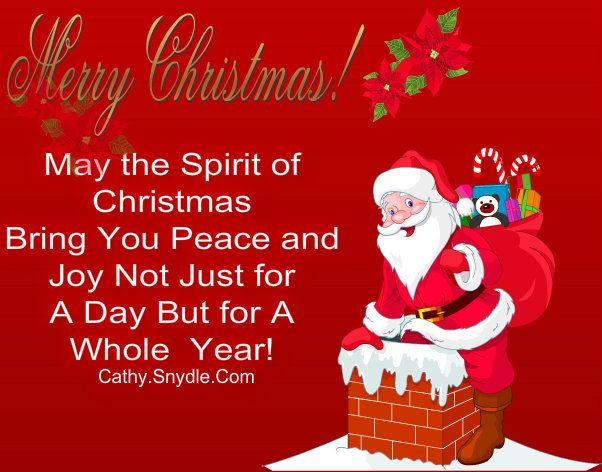 Merry Christmas Greetings, Wishes And Merry Christmas Greetings Quotes |  Cathy
