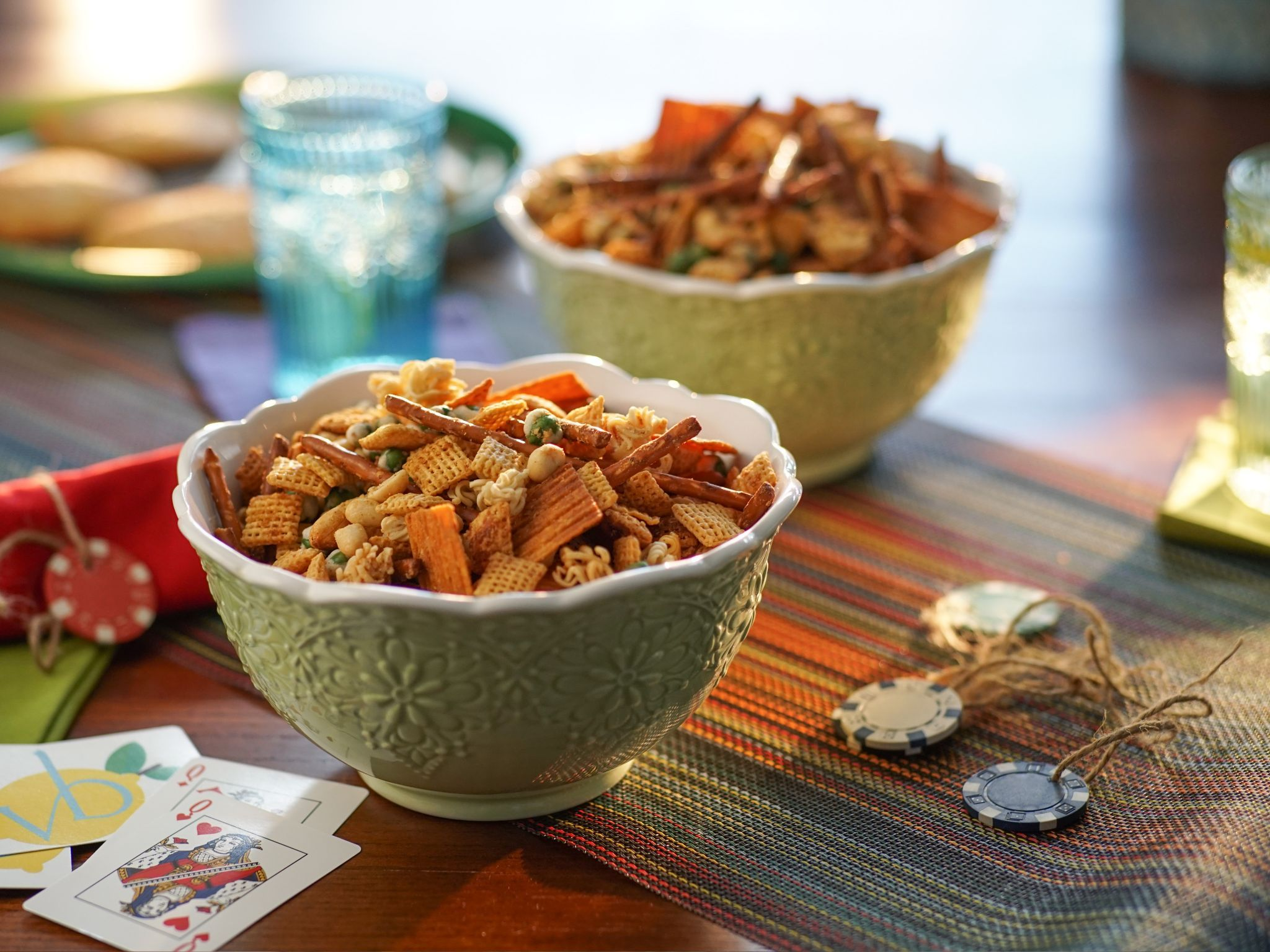 Everything snack mix recipe drinks appetizers pinterest everything snack mix recipe from valerie bertinelli via food network forumfinder Images