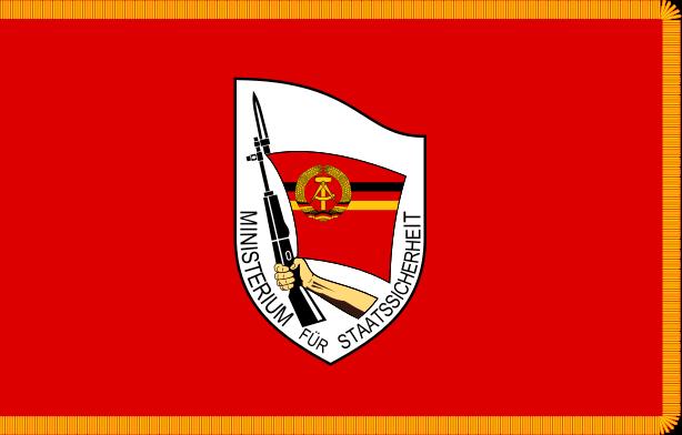 Flag of the East German Ministeriums für Staatssicherheit (Ministry