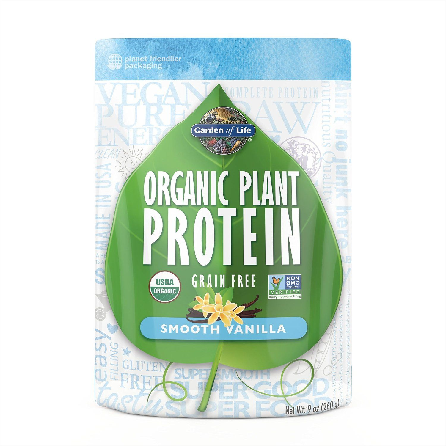 Garden of Life Organic Plant Protein Powder Giveaway Ends