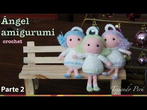 Tutorial Angioletto Amigurumi : Come fare angioletto a uncinetto amigurumi video tutorial
