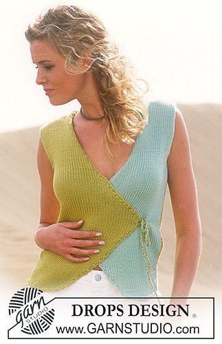 Ravelry: 88-21 Vest pattern by DROPS design