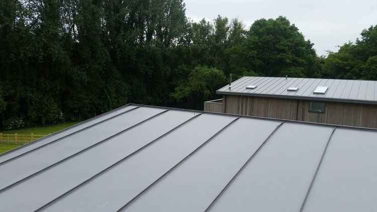 Best Zinc Roof With Matching Lindab Gutters Zinc Roof 400 x 300