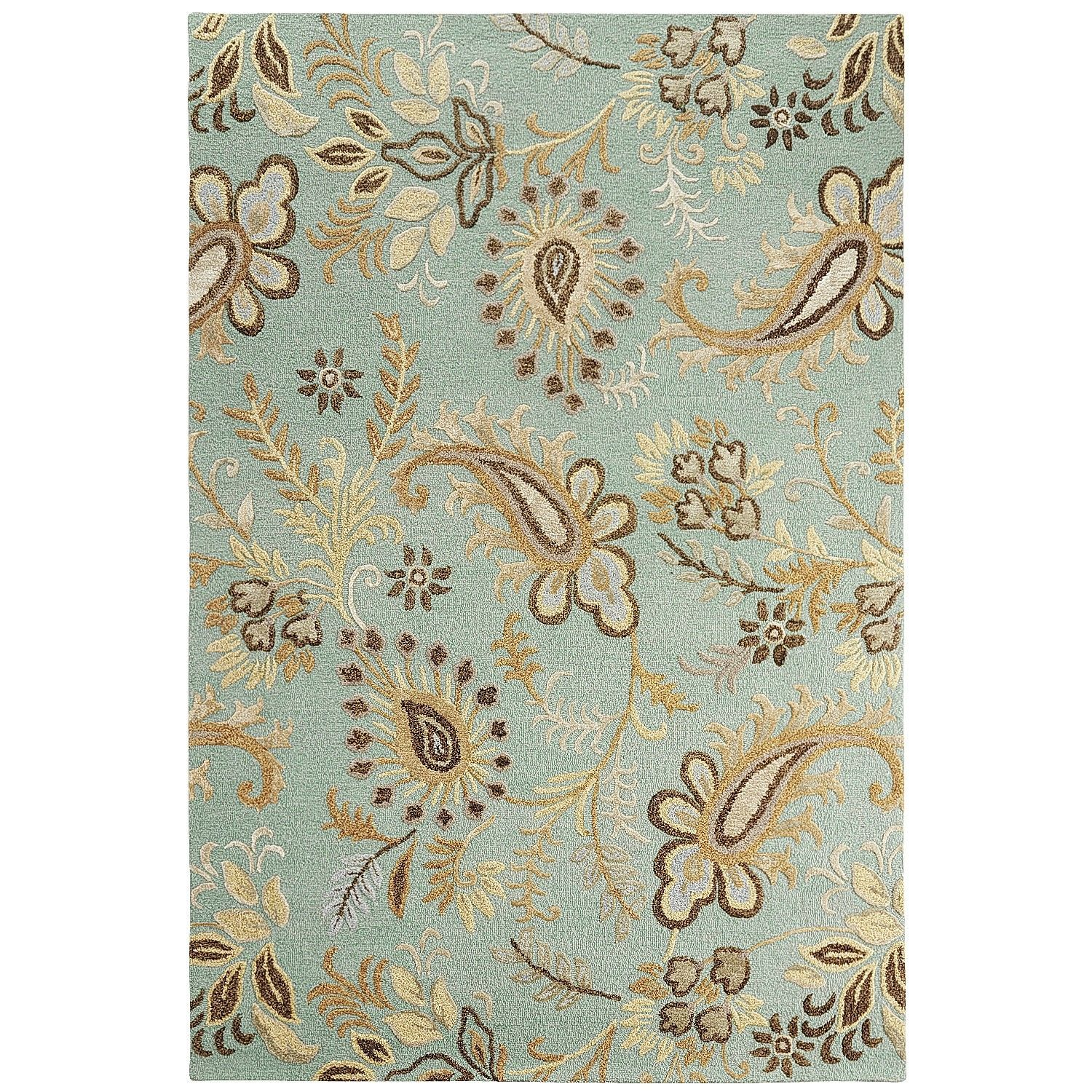 Tay Jacobean Blue X Rug Jacobean Blue Rugs And Rugs Blue