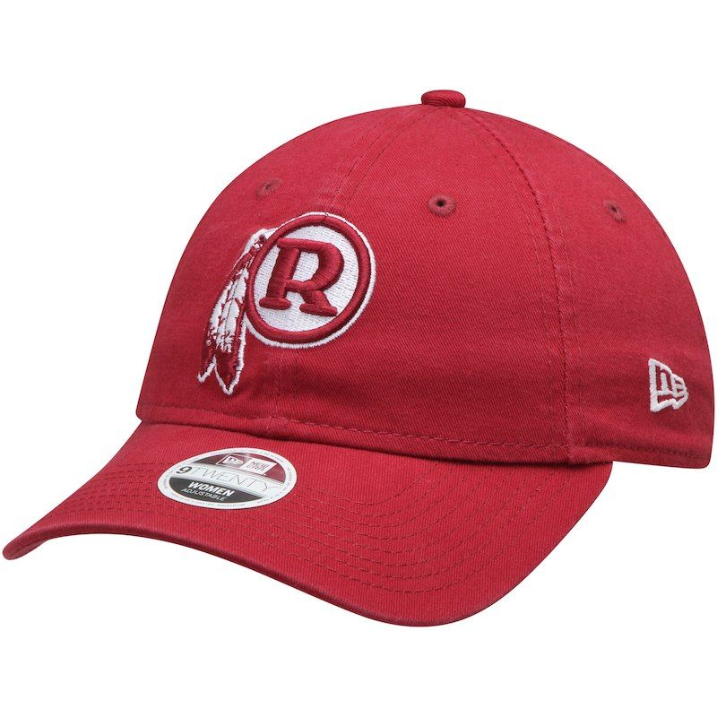 Washington Redskins New Era Women s Throwback Core Classic 9TWENTY  Adjustable Hat – Burgundy 5c070edbcc