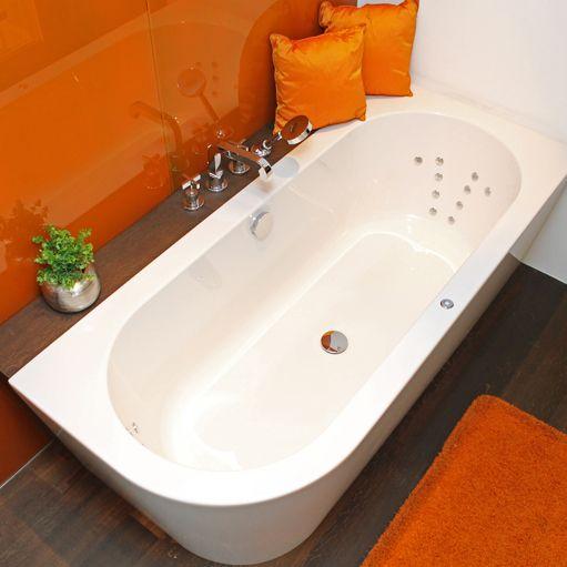 die Livorno Badewanne mit abgerundeter Ecke, beliebt wie noch nie - freistehende badewanne raffinierten look