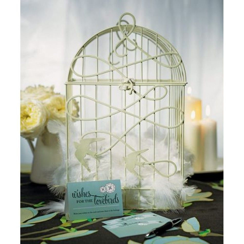 Modern Decorative Birdcage with Birds in Flight (Available in 2 ...