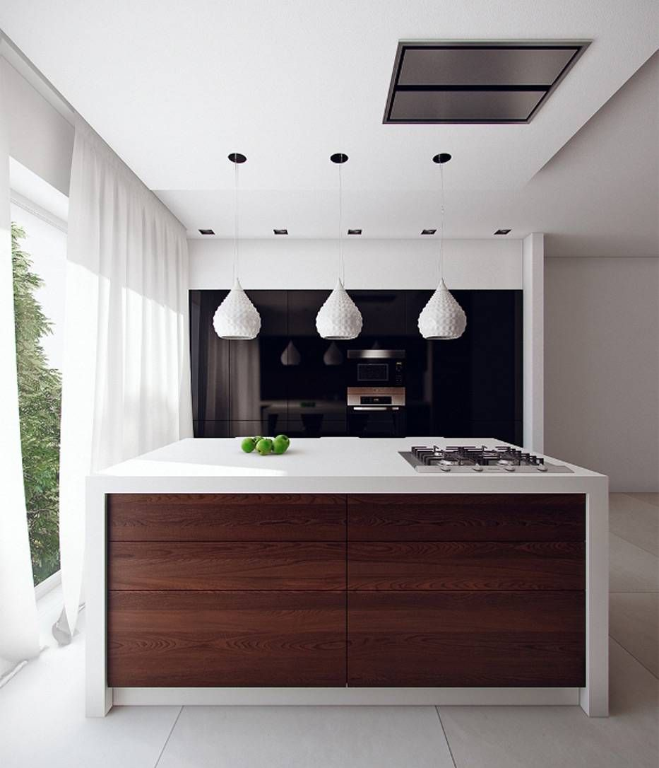 Cucina Bianca E Nera 100 idee di cucine moderne con elementi in legno (con