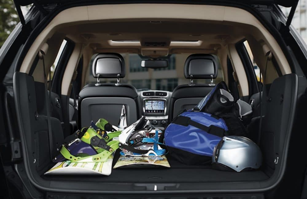 Storage Solutions In The 2018 Dodge Journey | Landers Chrysler Dodge Jeep  Ram Of Norman
