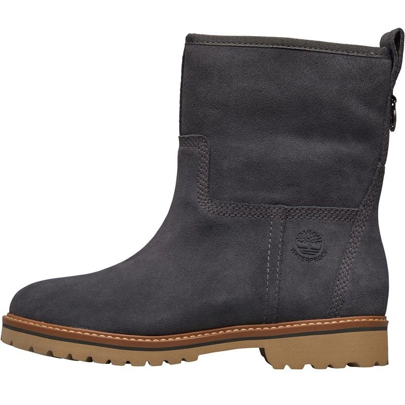 Timberland Womens Chamonix Valley Waterproof Lined Suede