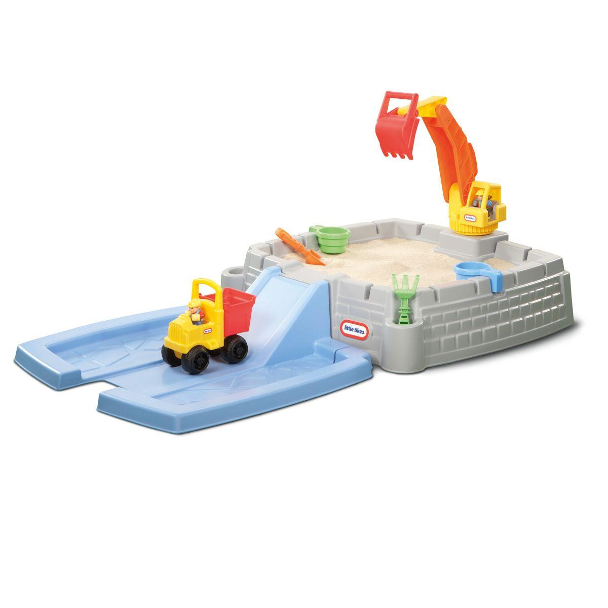 aire de jeu chantier little tikes pour enfant de 3 ans 6 ans oxybul veil et jeux achats. Black Bedroom Furniture Sets. Home Design Ideas