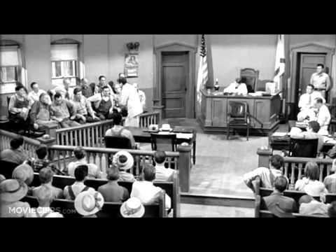 AtticusS Closing Statement Scene To Kill A Mockingbird Movie