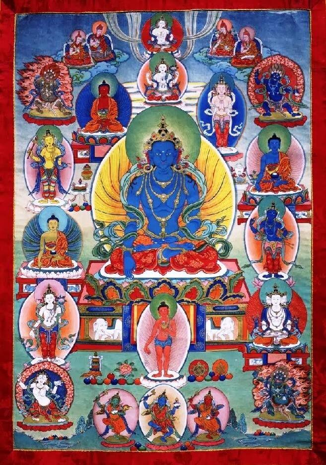Buddha Akshobhya (Mitrugpa) Mantra by H H  17th Karmapa