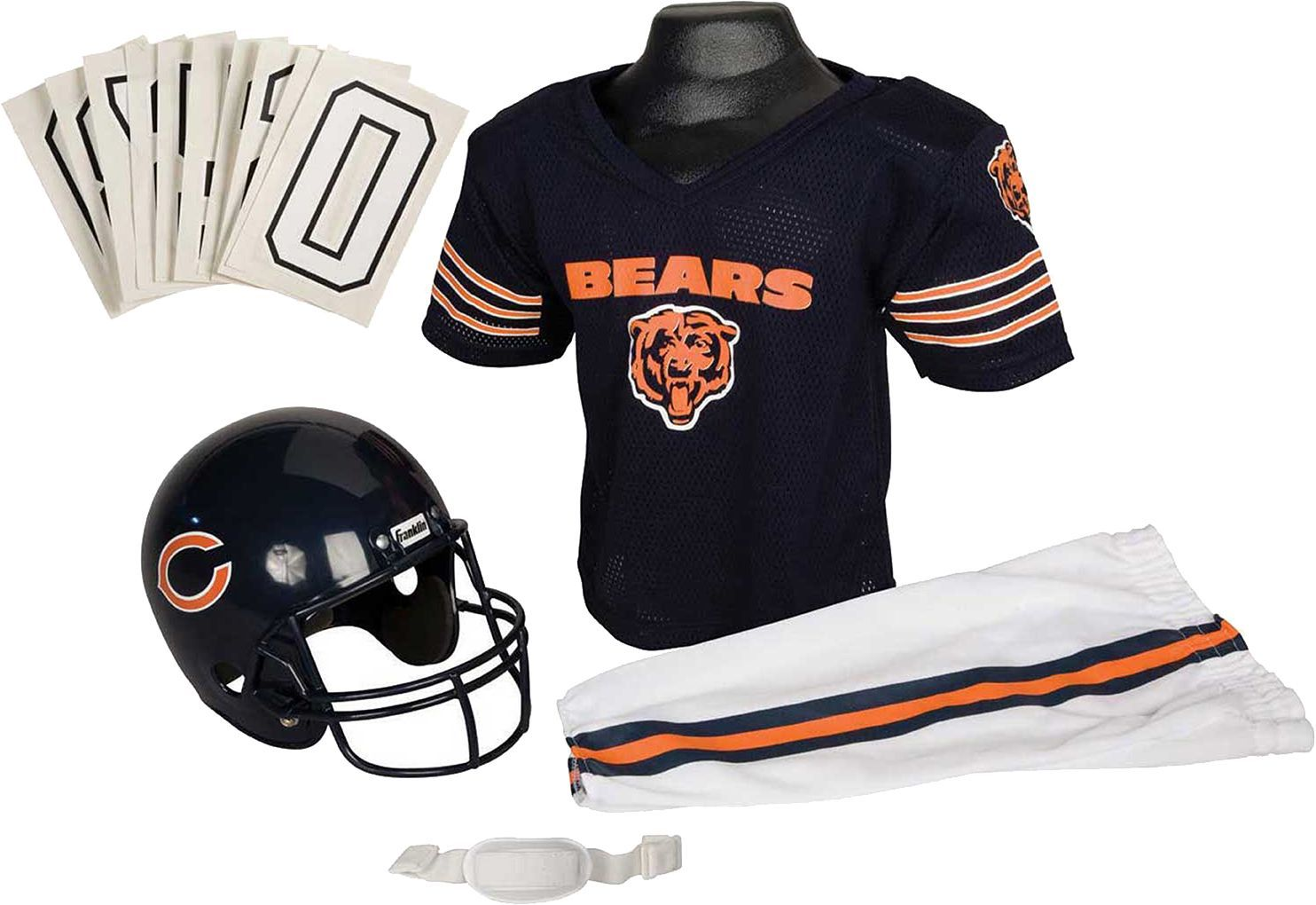 Franklin chicago bears kids deluxe uniform set products