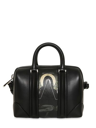 GIVENCHY - MINI LUCREZIA PRINTED COATED CANVAS BAG