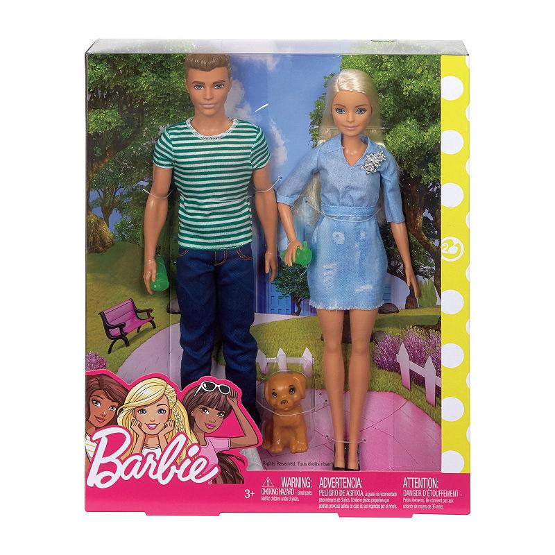 *** SALE *** Dollhouse Miniature Size Barbie /& Ken Doll Box