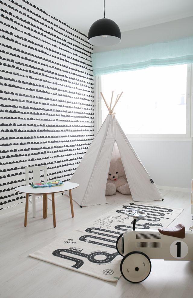 Elegant Auch Für Kinderzimmer: Tapete Half Moon Von Ferm Living Great Ideas