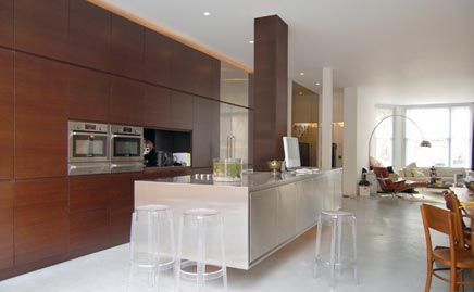 Zwevende Open Keuken : Zwevende open keuken interieur inrichting kitchen pinterest