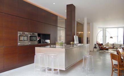 Zwevende open keuken interieur inrichting wonen pinterest open keuken keuken interieur - Deco open keuken ...